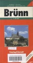 Brno - plán města