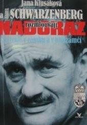 Jana Klusáková a Karel Schwarzenberg rozmlouvají nadoraz