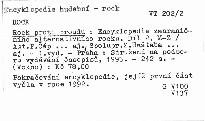 Rock proti proudu                         (Díl 2, M-Z)