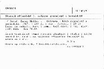 Sborník příspěvků 3. setkání genealogů a heraldiků
