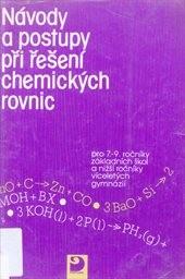 Návody a postupy při řešení chemických rovnic