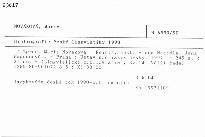 Bibliografie české lingvistiky 1990