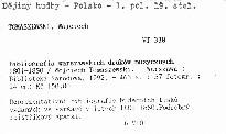 Bibliografia warszawskich druków muzycznych 1801-1850