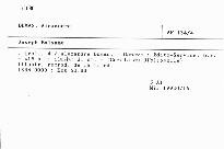 Joseph Balsamo                         ([Vol.] 4)