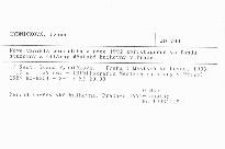 Nově vzniklá periodika v roce 1992 zpřístupněná ve fondu studovny a čítárny Městské knihovny v Praze