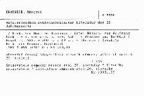 Autorenlexikon deutschsprachiger Literatur des 20. Jahrhunderts
