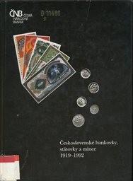 Československé bankovky, státovky a mince