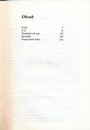 Grafologický slovník