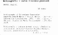 Bibliography of Literature Concerning Yemenite-Jewish Music