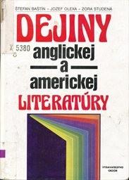 Dejiny anglickej a americkej literatúry