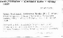 Zprávy Společnosti Vítězslava Nováka 20