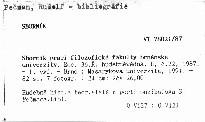 Sborník prací filozofické fakulty brněnské univerzity                         (Roč. 36.Řada hudebněvědná, H, č.22, 1987)