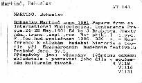 Bohuslav Martinů anno l981