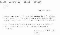 Zprávy Společnosti Vítězslava Nováka 19