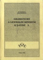 Gramatické a lexikální minimum k Latině 1