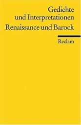 Gedichte und Interpretationen                         (Bd. 1)