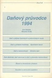 Daňový průvodce 1994