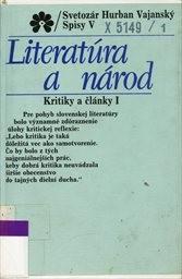 Literatúra a národ