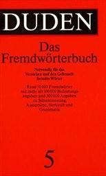 Der Duden in 10 Bänden                         (Bd. 5)