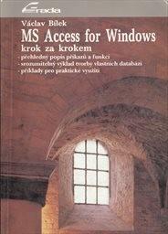 MS Access for Windows krok za krokem