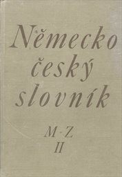 Německo-český slovník                         ([Díl] 1)