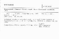 Hospodářský Almanach České republiky a Slovenské republiky 1993
