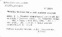 Metodika houslové hry a její současné vývojové směry                         (D. 1)