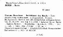 Giacomo Meyerbeer - Weltbürger der Musik