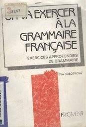 On va exercer a la grammaire francaise