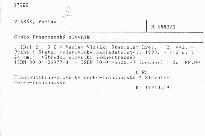 Česko-francouzský slovník                         ([Díl 2], R-Ž)