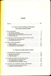 Grundlagen und Perspektiven der Sozialen Marktwirtschaft