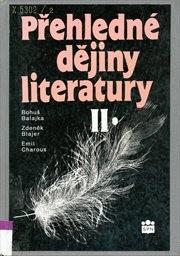 Přehledné dějiny literatury                         ([Díl] 2)