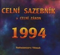 Celní sazebník a celní zákon 1994