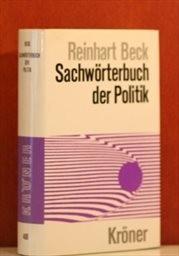 Sachwörterbuch der Politik