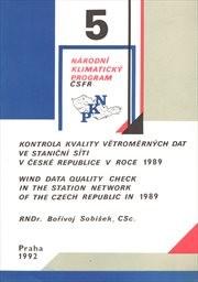 Kontrola kvality větroměrných dat ve staniční síti v České republice v roce 1989
