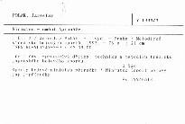 Ninjutsu - umění špionáže                         (Díl 3)
