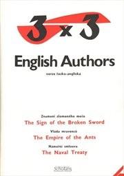 3 x 3 English Authors