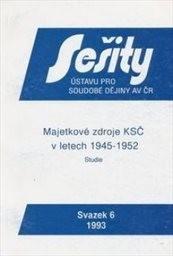 Majetkové zdroje KSČ v letech 1945-1952