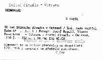 70 let Státního divadla v Ostravě