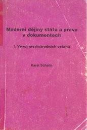 Moderní dějiny státu a práva v dokumentech                         (Sv. 1,)