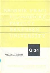 Sborník prací filozofické fakulty brněnské univerzity                         (Roč. 40., 1991)