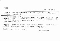 Výběr z prací členů Historického klubu při Jihočeském muzeu v Českých Budějovicích                         (Roč. 30/1993, č. 4)