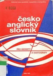 Česko-anglický slovník pro geodety a kartografy
