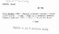 Prix Bohemia 1992