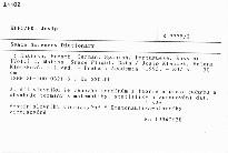 Space Sciences Dictionary                         ([Vol.] 2,)
