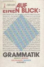Auf einen Blick: Grammatik