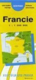 Francie, automapa