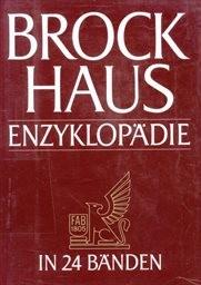 Brockhaus Enzyklopädie                         (Bd. 15)
