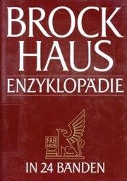 Brockhaus Enzyklopädie                         (Bd. 18,)