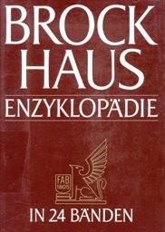 Brockhaus Enzyklopädie                         (Bd. 19)